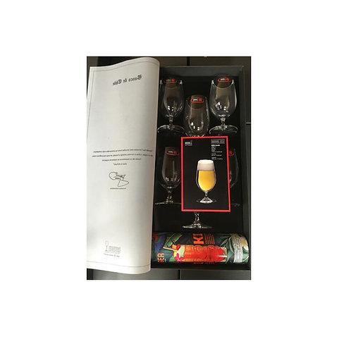 Riedel 6 Copas Bar Cerveza + Revista