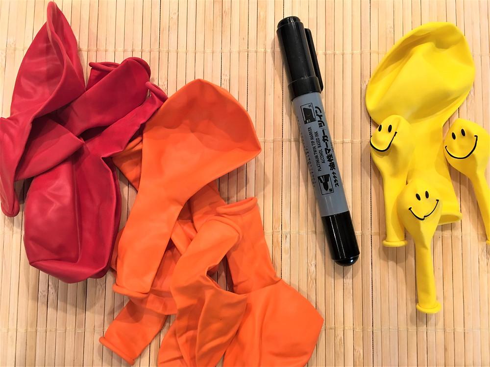 DIY Pédagogie : Les Ballons très très Forts (ingrédients)