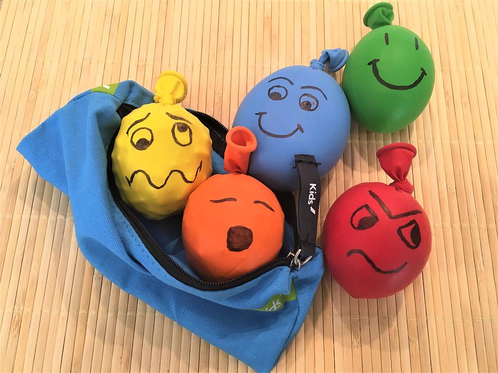 DIY Atelier Montessori (2 à 6ans): les Balles d'Humeurs