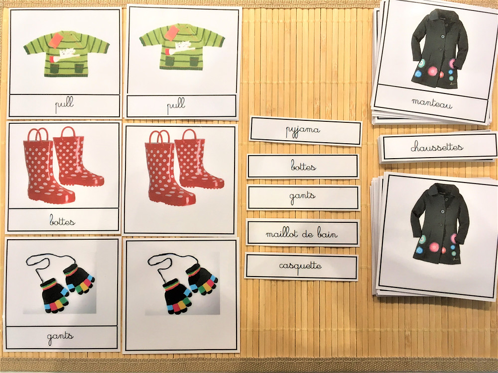 DIY Atelier Montessori : Les Vêtements de tous les Jours (PDF)