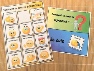 DIY Pédagogie (PDF) : L'Émotion du Jour