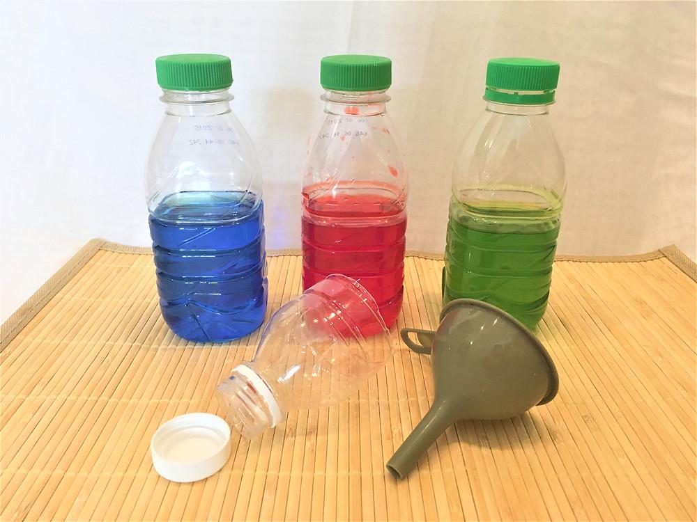 Transvasement d'eau, matériel d'approvisionnement