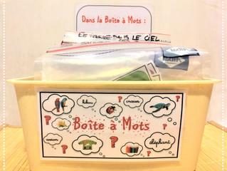 DIY Atelier : la Boîte à Mots (PDF)