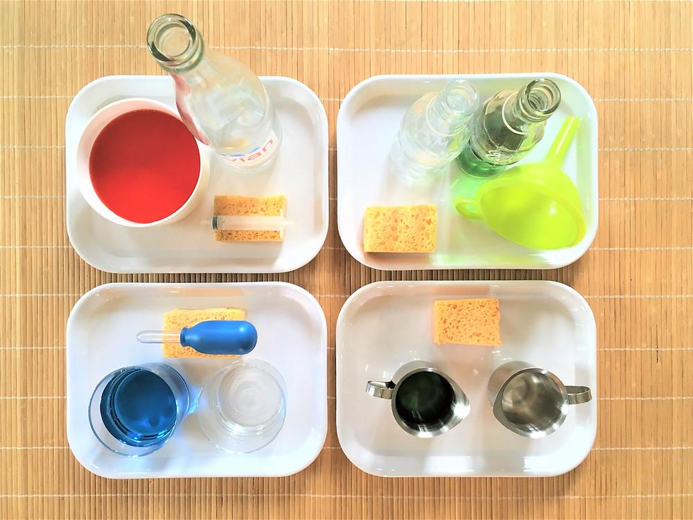 DIY Atelier : Transvasement d'eau, 4 activités pour continuer