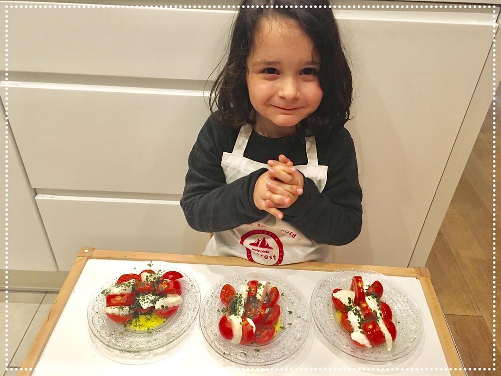 DIY Cuisine : Tomates & Mozza