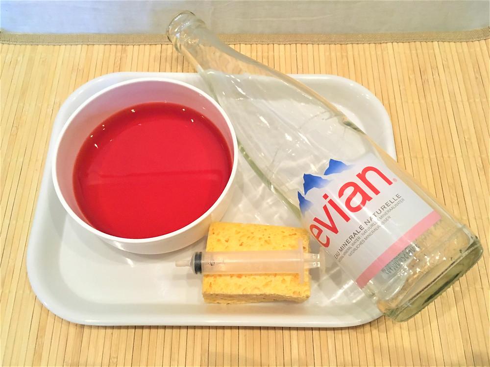 Transvasement d'eau, activité 8.