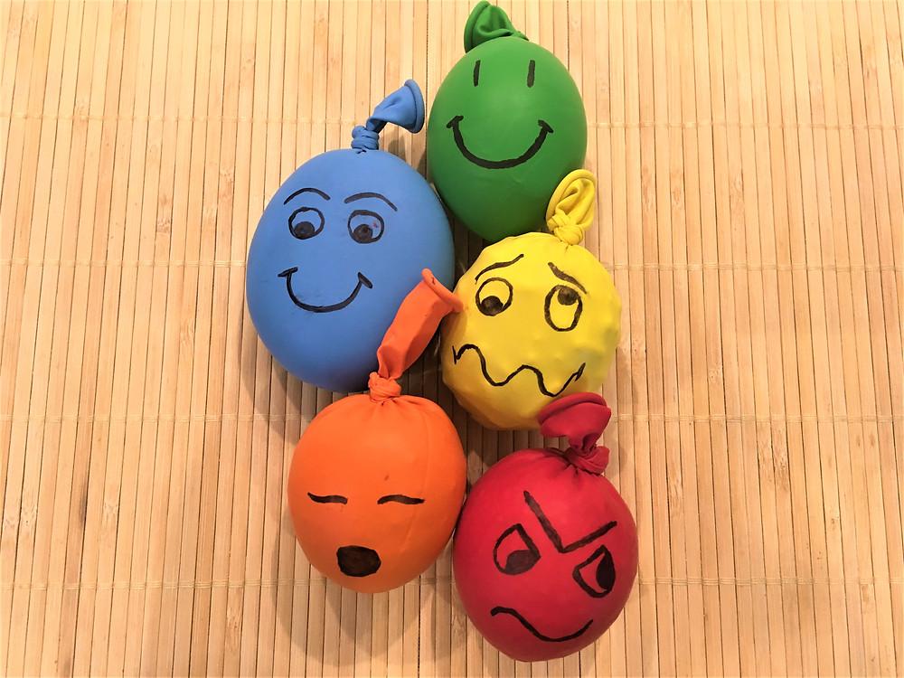 DIY Atelier Montessori : Les Balles d'Humeurs