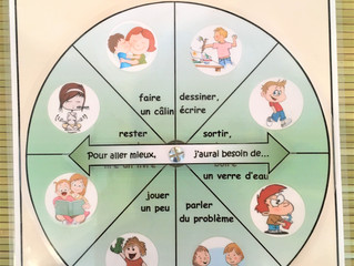 DIY Pédagogie (PDF) : La Roue des Activités (pour lutter contre larmes & colère)