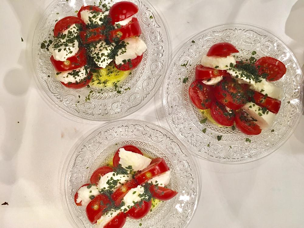 Atelier Cuisine : Tomates & Mozza, Résultat