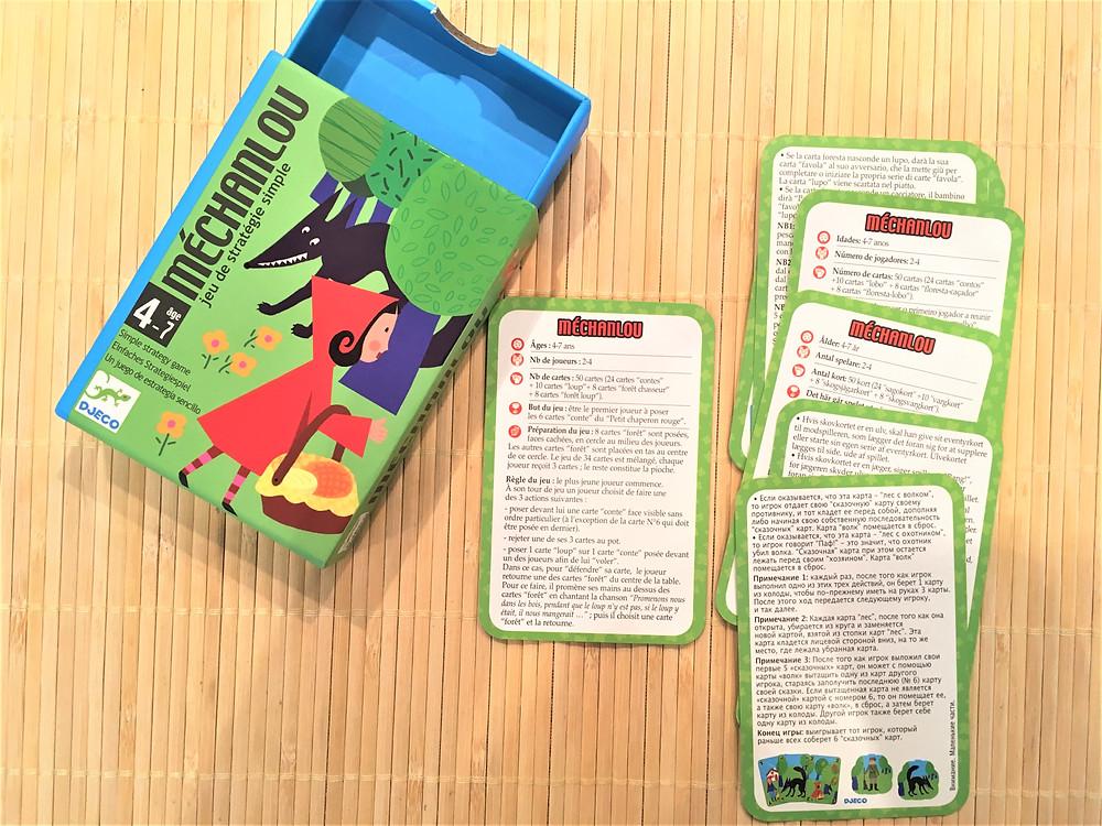 Testé à la Maison : Méchanlou, jeu de société pour jeunes enfants