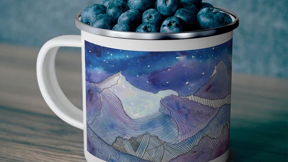 10 Mile Mosaic - Enamel Camping Mug
