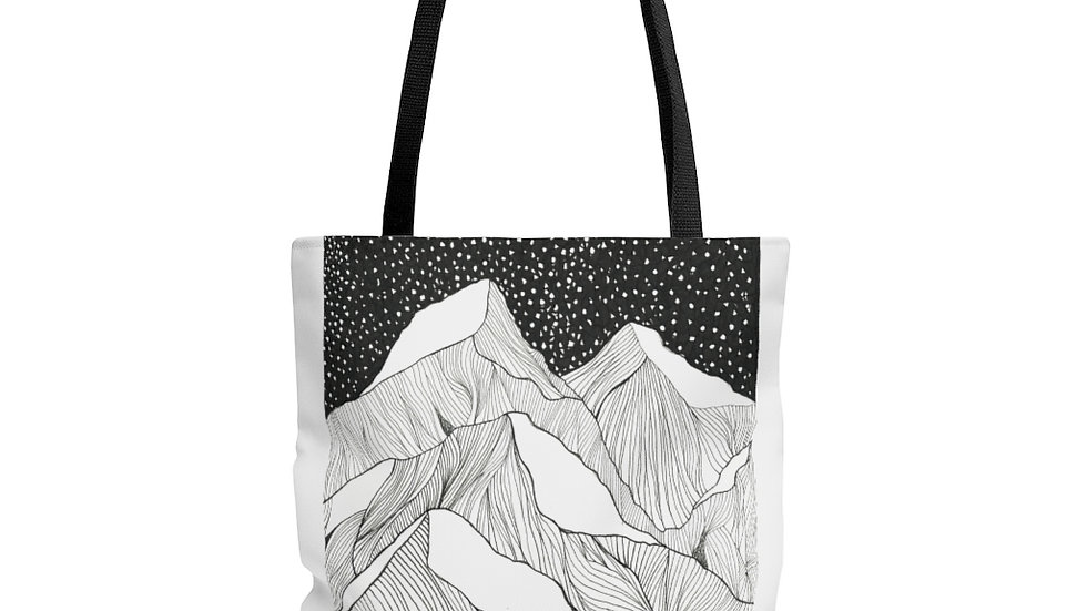 Going to the Sun Road Tote Bag
