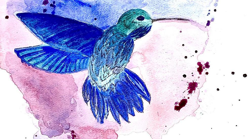 Splattered Hummingbird
