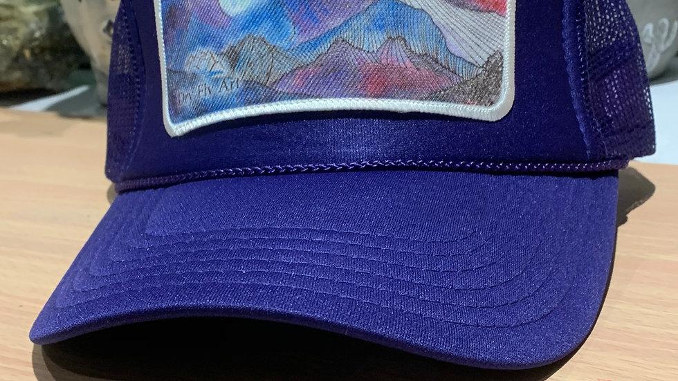 Purple 10 Mile Mosaic Hat