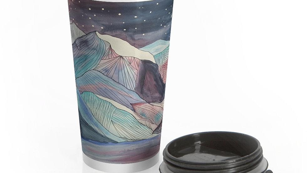 Mount Royal Stainless Steel Travel Mug
