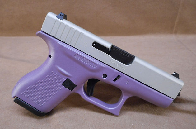 Glock 42 380 acp Metallic Purple