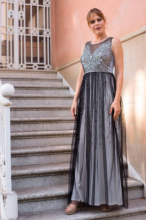 Atenea maxi black/silver