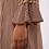 Thumbnail: Vestido corto estampado con campana en puños