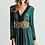Thumbnail: Vestido corto bicolor de seda y espalda escotada SAYAN