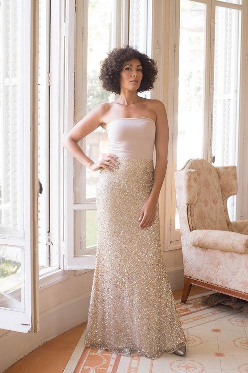 Ceylan skirt gold
