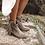 Thumbnail: Layer Boots botín de ante gris con flecos