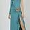 Thumbnail: Vestido ajustado asimétrico con apertura lateral SAYAN