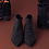 Thumbnail: Botín plano con tachuelitas color kaki