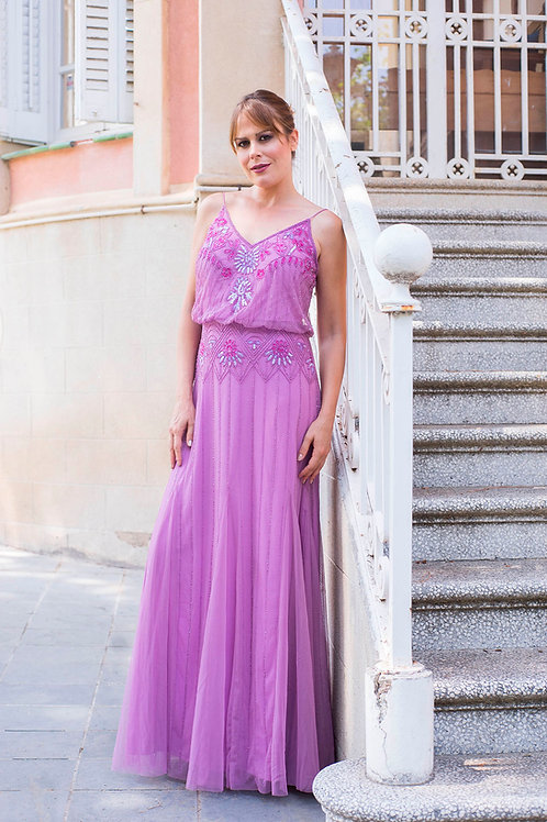 Tatiana maxi purple