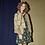 Thumbnail: Abrigo plumón con mangas en punto estilo Balenciaga
