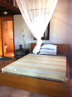 Second floor king size double bed