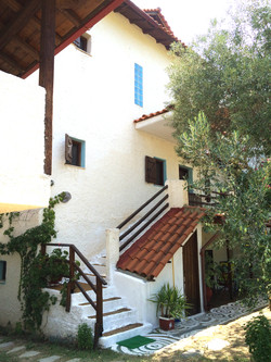 Summer House external staircase