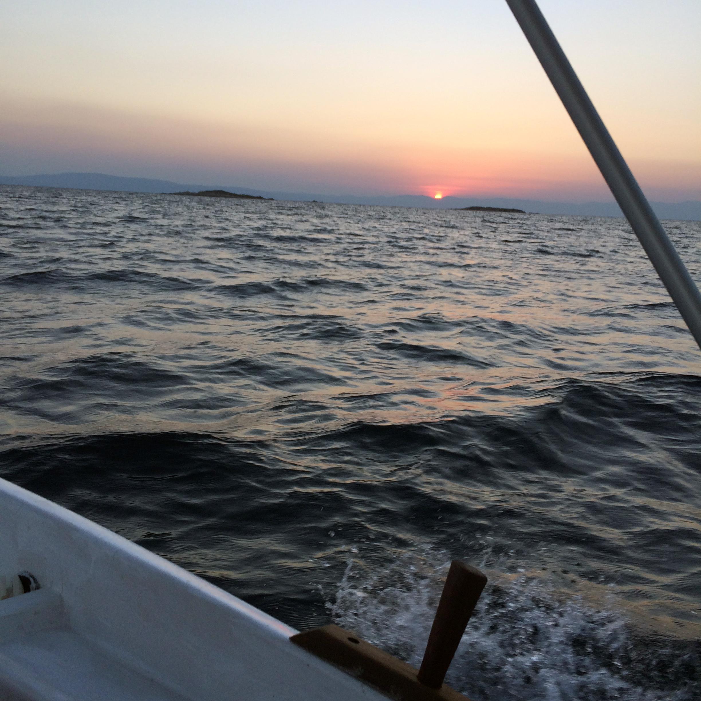 Vourvourou sunset