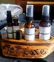 Art on Wood By Mark Solo & DJ Katie Handmade Self Care Essential Oil Blends Stress Brain Alertness Focus Anxiety Pain Sleep Mosquito Bug NoSeeUm Spray Flea Tick Headache Migraine Sinus Arthritis Nerve Distilled Pet Natural Lotion Body Balms Chapstick Build Immunity Detox