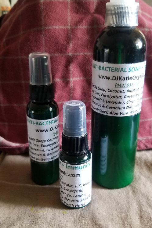 Anti-Bacterial Soap + Immunity Building