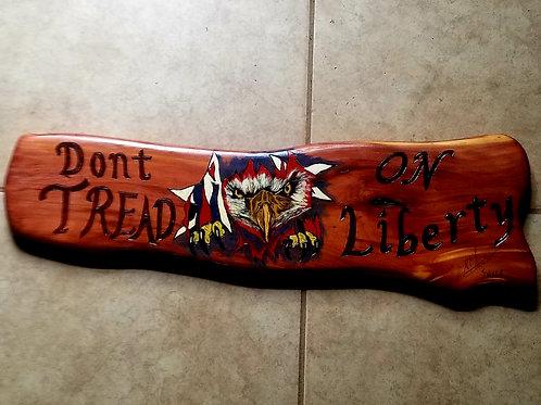 Don't Tread On Liberty Eagle - Item #151