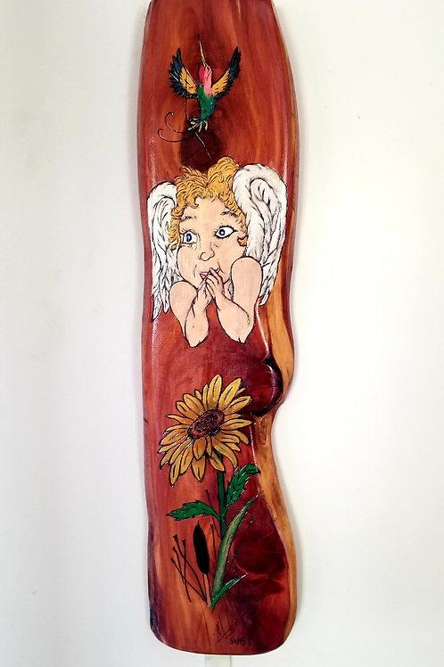 Angel -Sunflower-Humming Bird - Item # 148