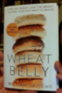 CLICK FOR INFO ON WHEAT BELLY BY WILLIAM DAVIS MD