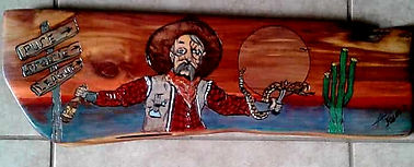Art On Wood Signed all original