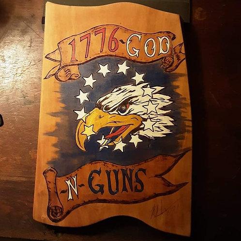 Eagle Flag God And Guns