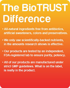 Click Here For The BioTrust Difference
