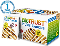 BioTrust Protein Cookies- 12 Grams Time Releasd Protein-Healty as your protein shake