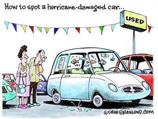 ¿Estás por comprar un carro usado? Alerta ante los daños que pueda tener luego del Huracán María.