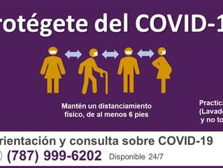 Estaciones de pruebas gratis de COVID-19