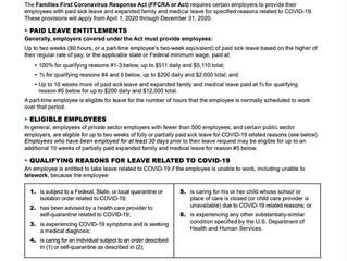 Medidas Aplicables a la Relación Obrero-Patronal ante la Emergencia Provocada por el COVID-19