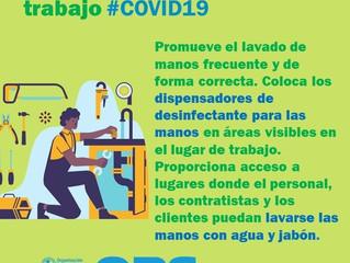 """Coronavirus: ¿Cómo preparar los ambientes de trabajo si eres empleado de """"trabajo esencial&quot"""
