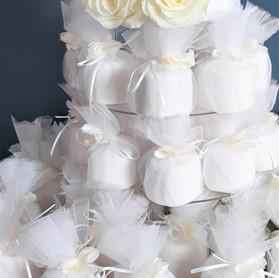 mini wrapped wedding cakes.jpg