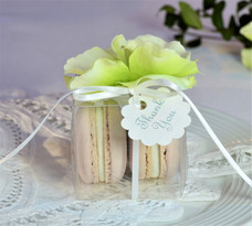 Macaron wedding favour box