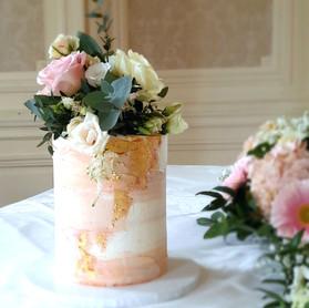 Champagne gold buttercream wedding cake.jpg