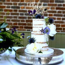Blue thistle wedding cake.jpg