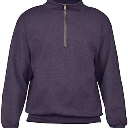1/4 Zip Cadet Collar Sweatshirt